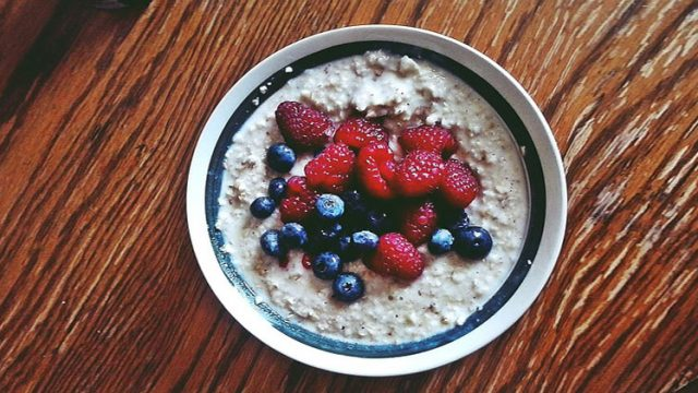 Rezept: Warmes Getreidefrühstück